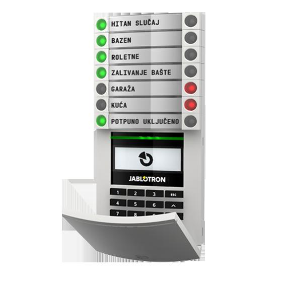 Pristupni modul sa RFID-om, tipkovnicom/tastaturom i ekranom