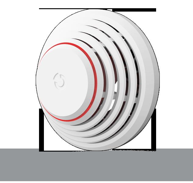 Kombinirani detektor dima i topline