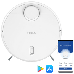 Robot, usisavač, baterija 6400 mAh, HEPA filter, WiFi