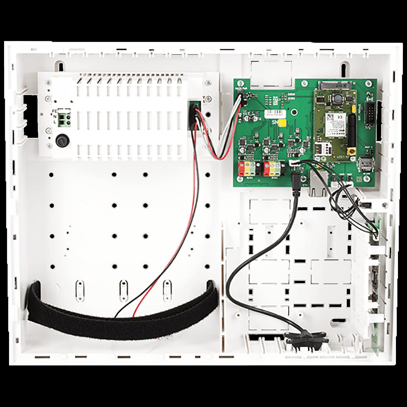 Kontrolna ploča sa LAN/GSM/GPRS komunikatorom i radio modul