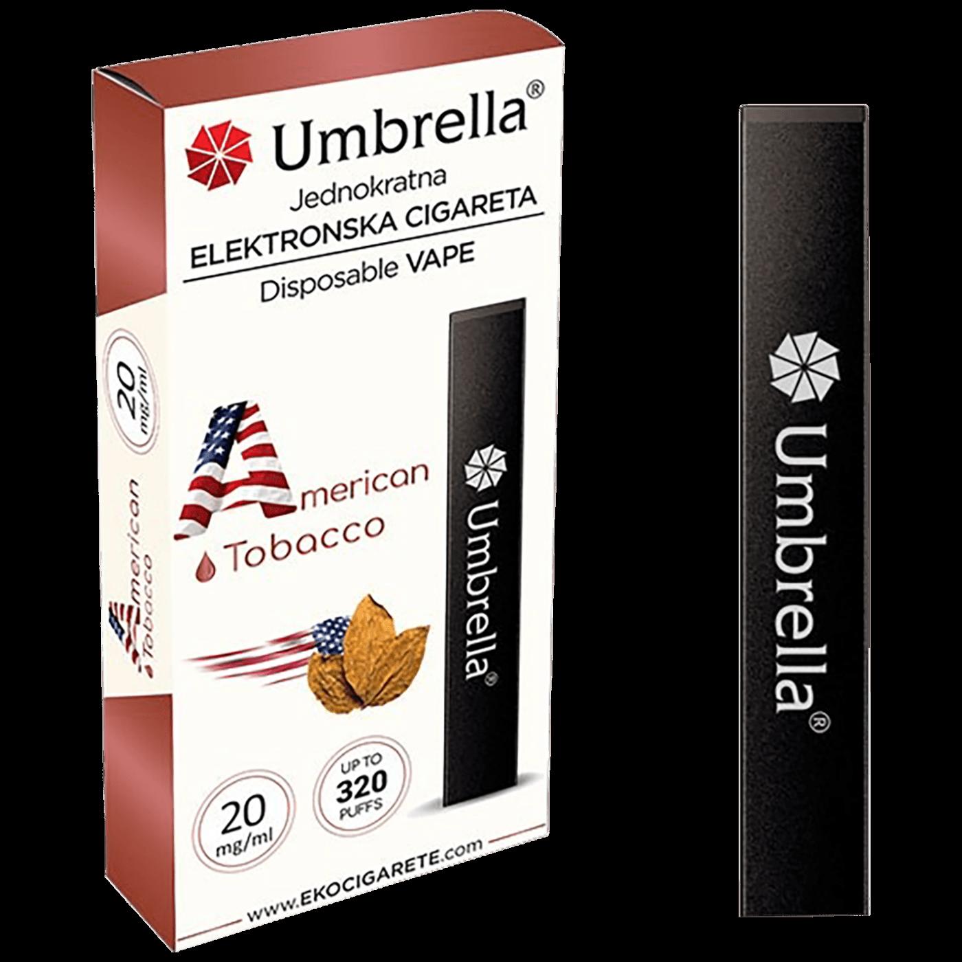 Cigareta elektronska, jednokratna, America Tobacco, 20 mg