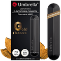 Umbrella - E-cigareta jednokratna Gold Tobacco