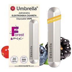 Cigareta elektronska, jednokratna, Forest Mix, 20 mg