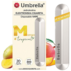 Cigareta elektronska, jednokratna, Mango, 20 mg