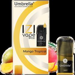 Cigareta elektronska, Izi Pod Mango Tropical, 10 mg