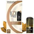 Umbrella - Izi Pod American Tobacc 0mg