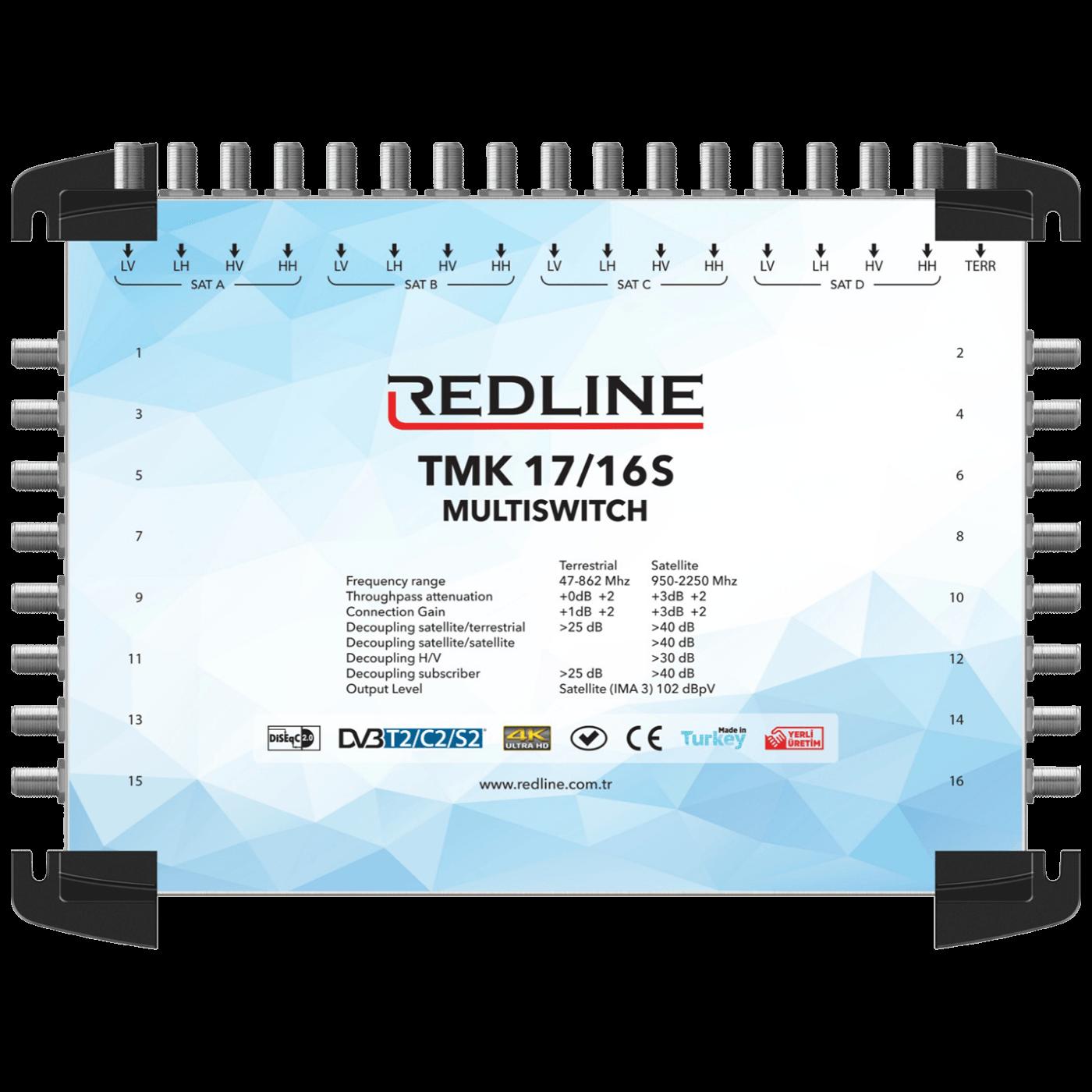 REDLINE - TMK 17/16S