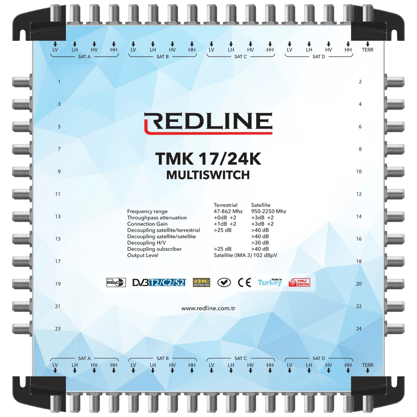 REDLINE - TMK 17/24K