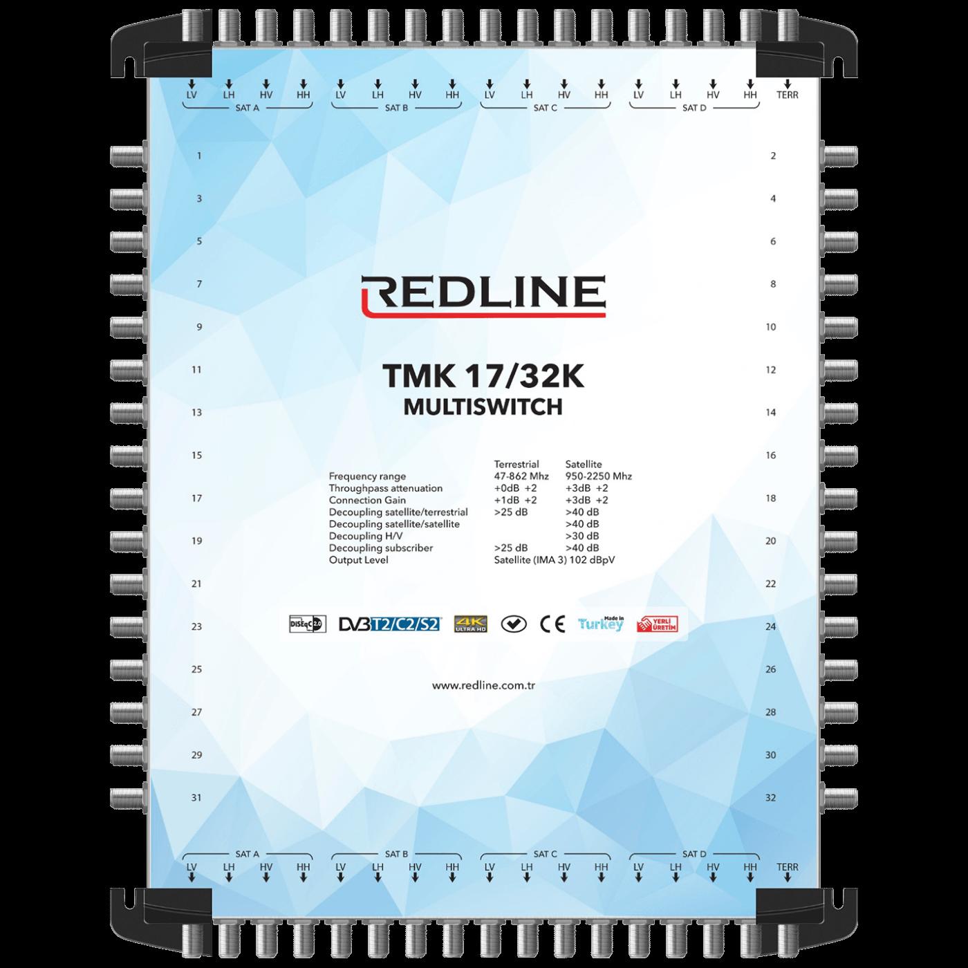 REDLINE - TMK 17/32K