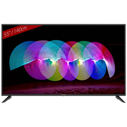 Smart 4K LED TV 55 inch@Android OS, DVB-T/T2/C/S/S2