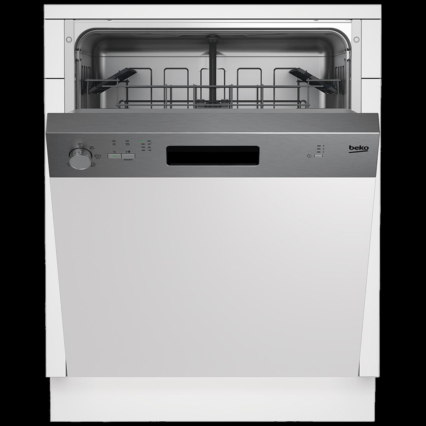 Ugradbena  mašina za suđe, 13 setova,5 programa, INOX, A+