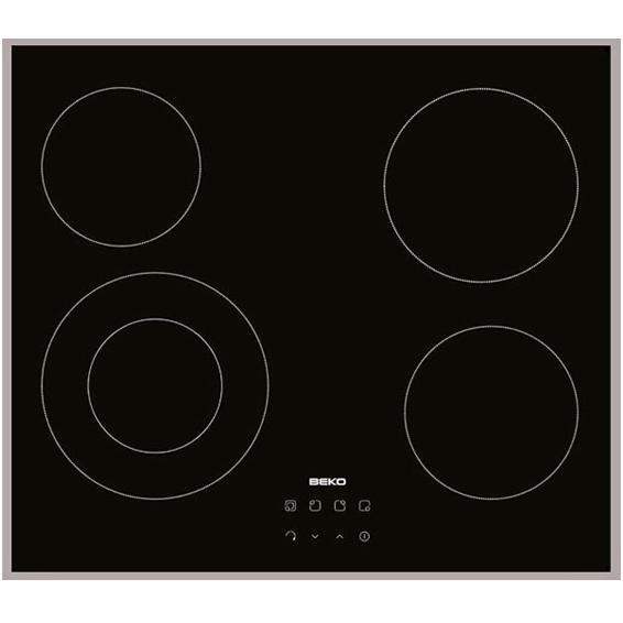 Ugradbena staklokeramička ploča za kuhanje 60cm, 4 zone