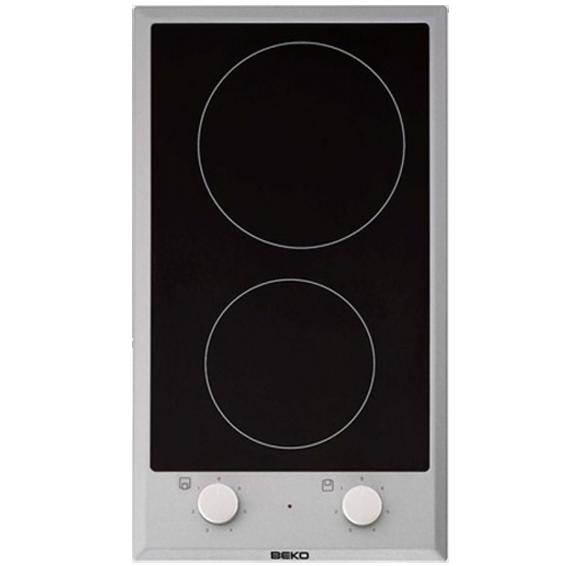 Ugradbena kombinirana ploča za kuhanje 30cm, crna
