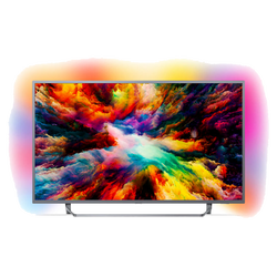 Smart 4K LED TV 43 inch@Android OS, Ambilight, DVB-T2/T2-HD/C/S2