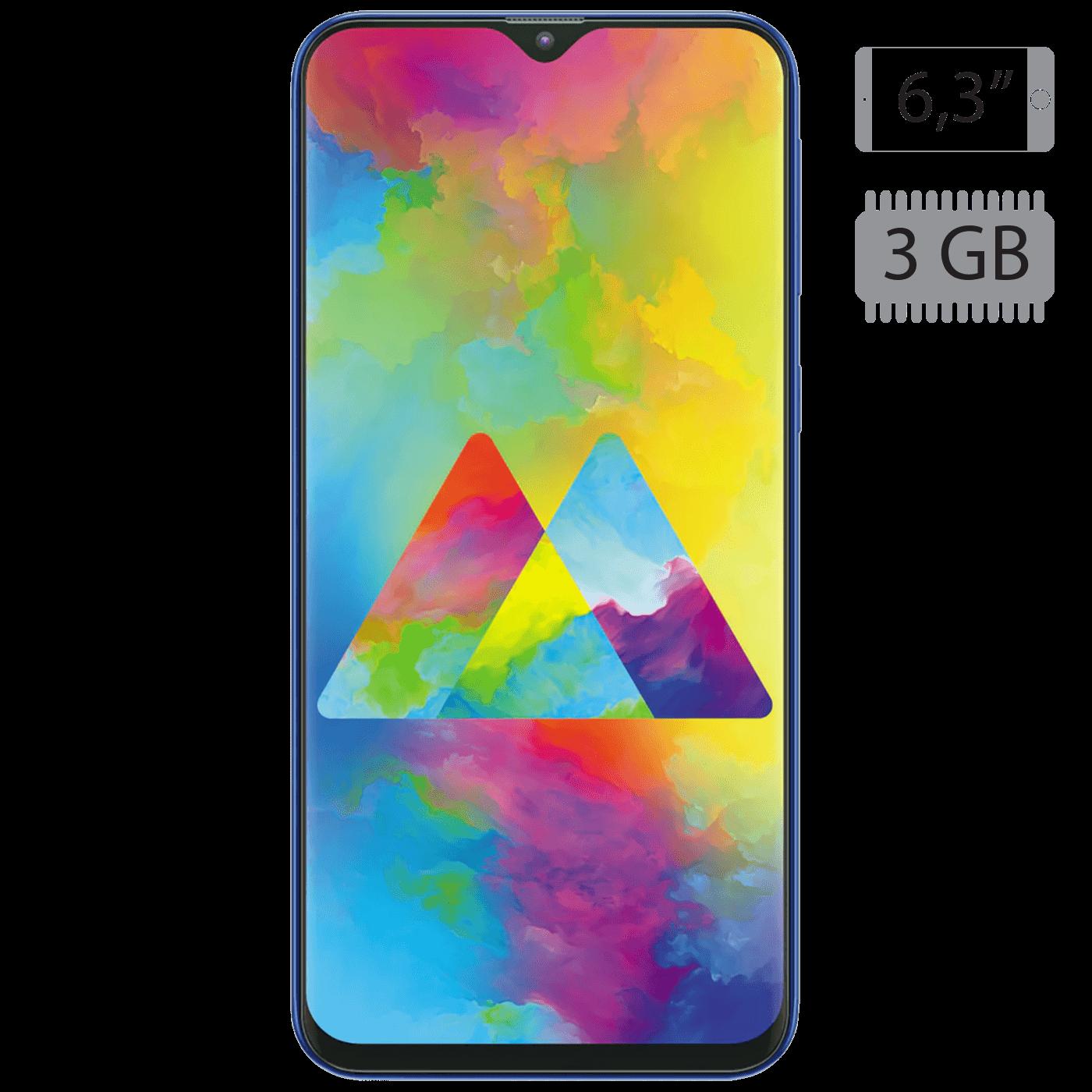 Samsung - Galaxy M20 Ocean Blue