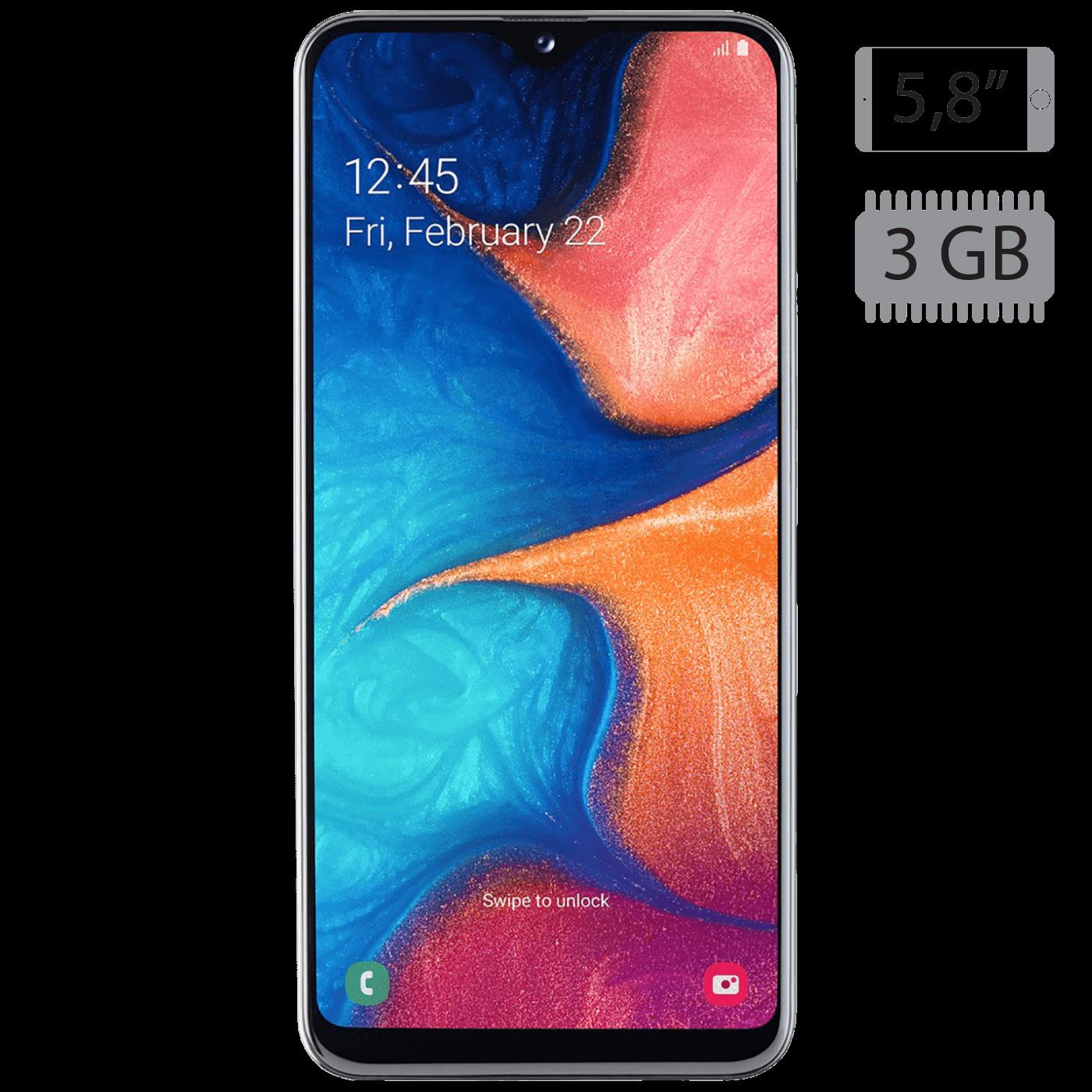 Samsung - Galaxy A20e White