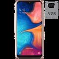 Samsung - Galaxy A20e Coral Orange