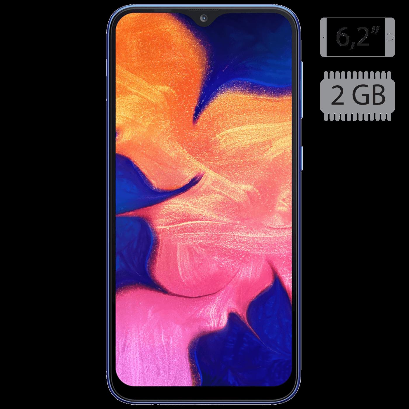 Galaxy A10 Blue