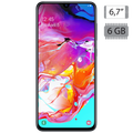 Samsung - Galaxy A70 Black