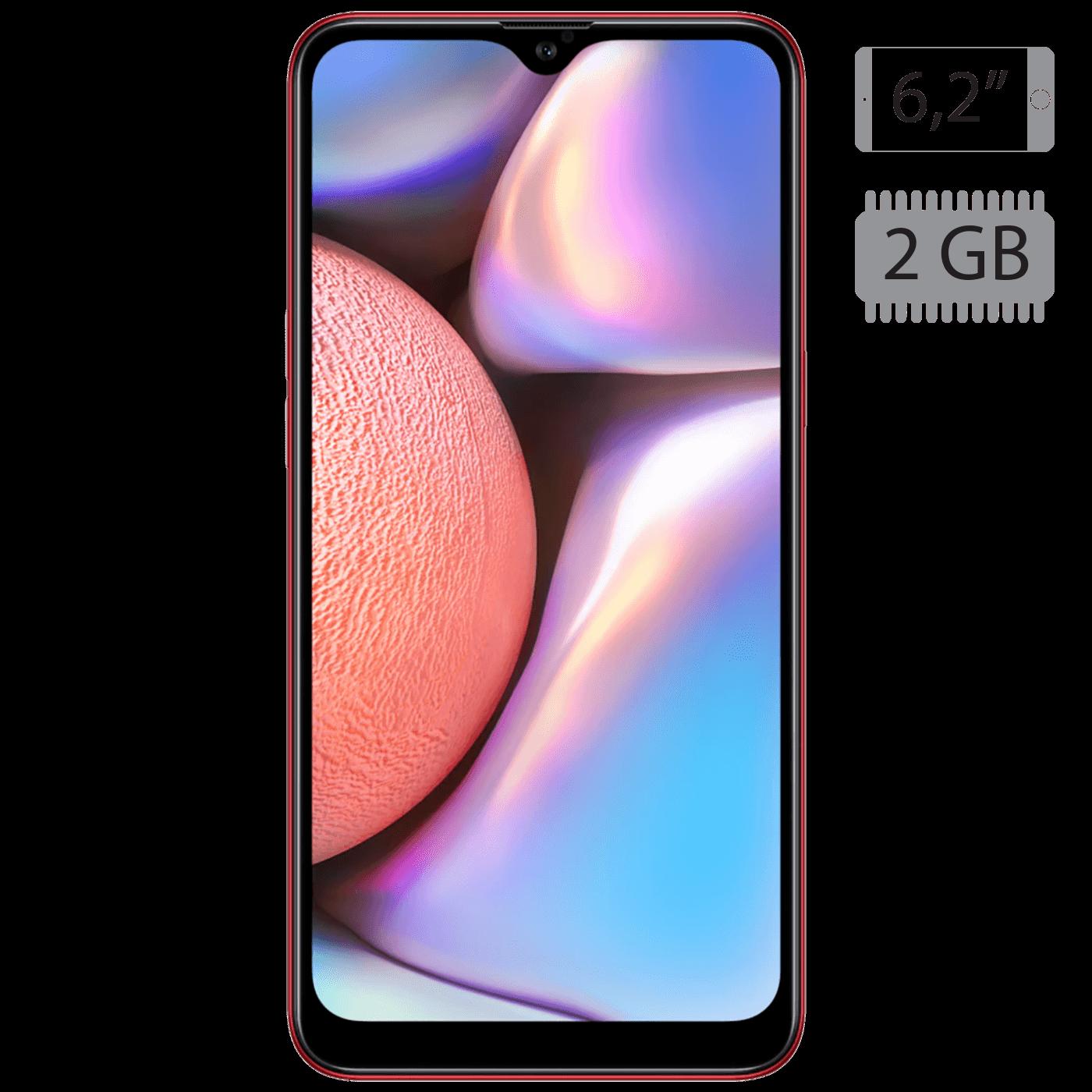 Samsung - Galaxy A10s Red