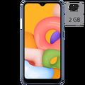Samsung - Galaxy A01, Blue