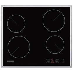 Ugradbena staklokeramička ploča za kuhanje, 6000 W