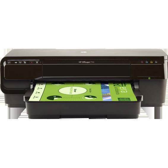 Printer, A3+, duplex, LAN, WiFi, ePrint, OfficeJet  7110