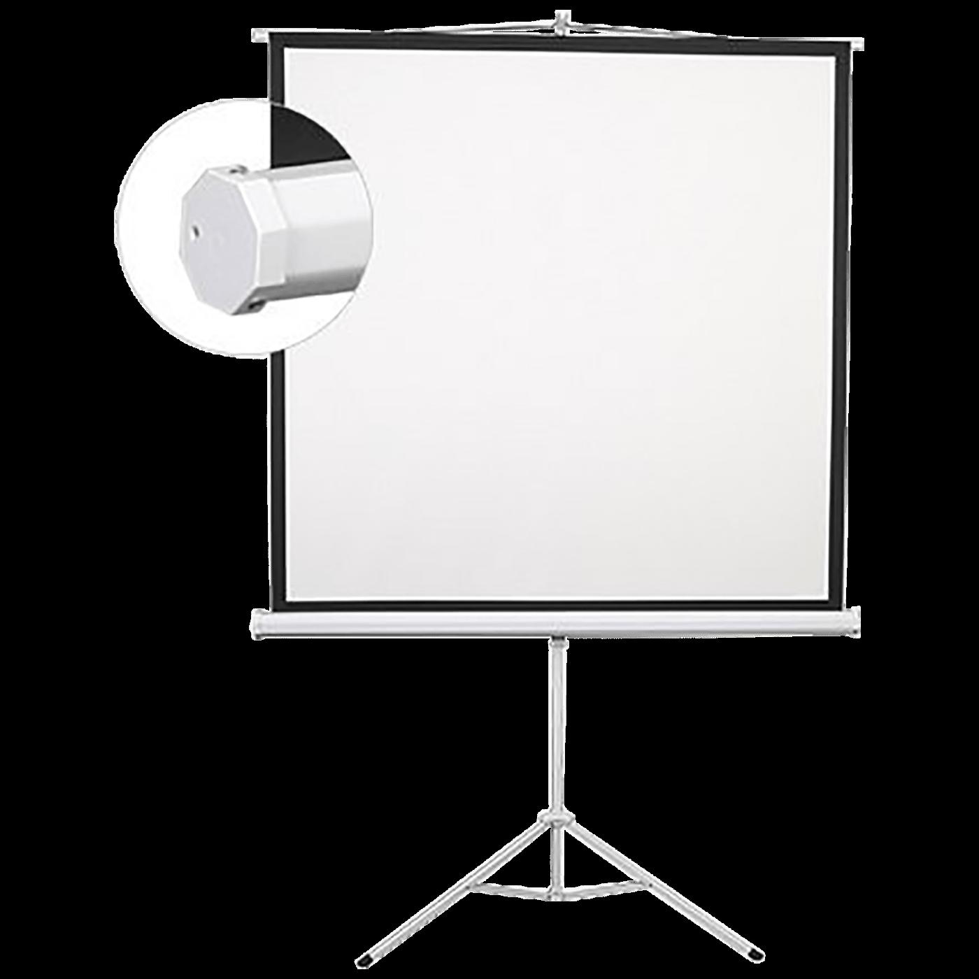 Platno za projektor, tripod, 200 x 200