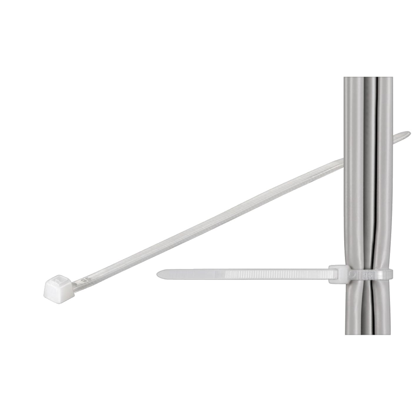 Plastične vezice 3.6 x 140, pak. 100 kom.