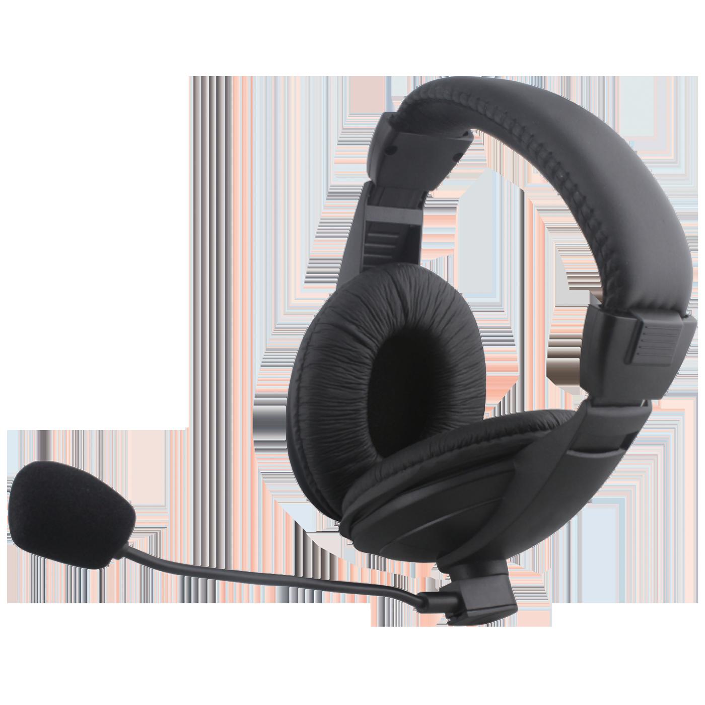 Slušalice+mikrofon, set, konekcija Jack 3.5mm,kožni jastučić