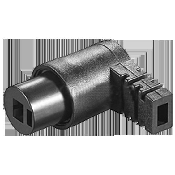 Utikač za zvučnik DIN 41529-Ž kutni