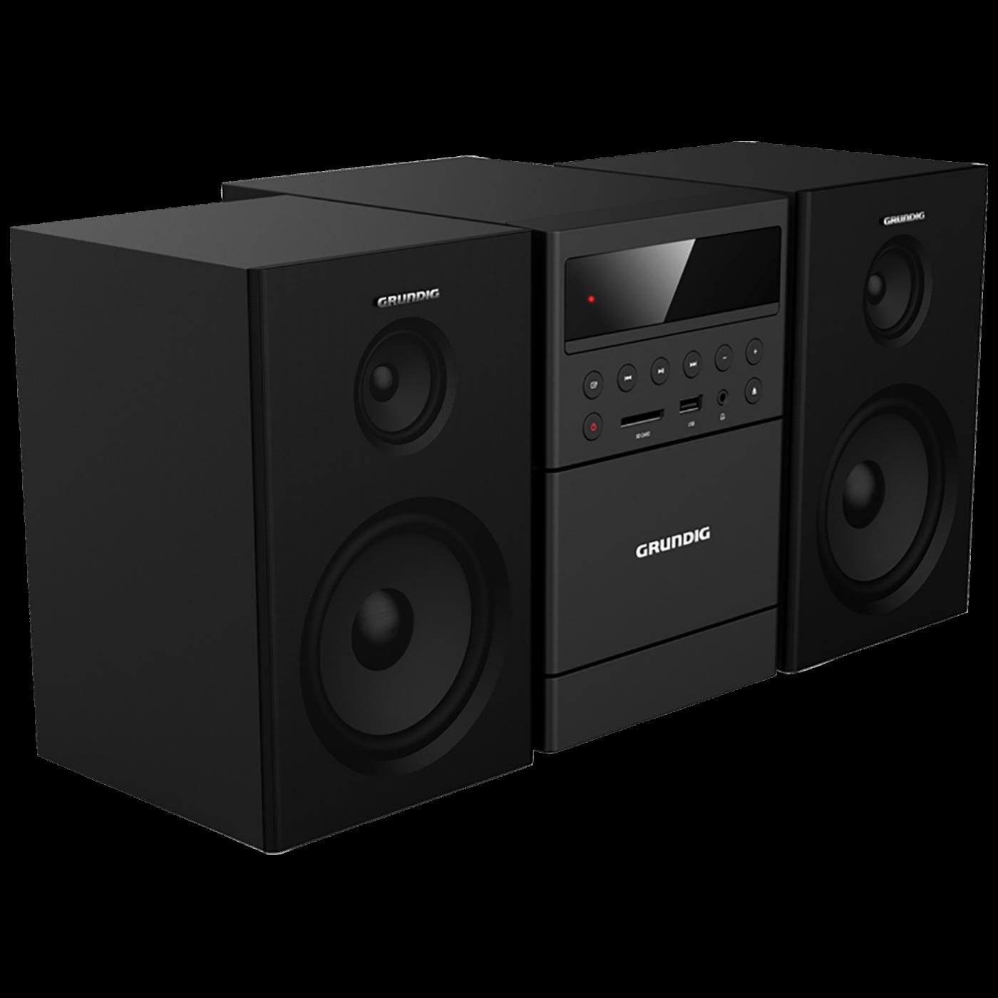 Micro sistem CD, BT, FM radio, MP3/WMA, USB, kasetofon, 20W