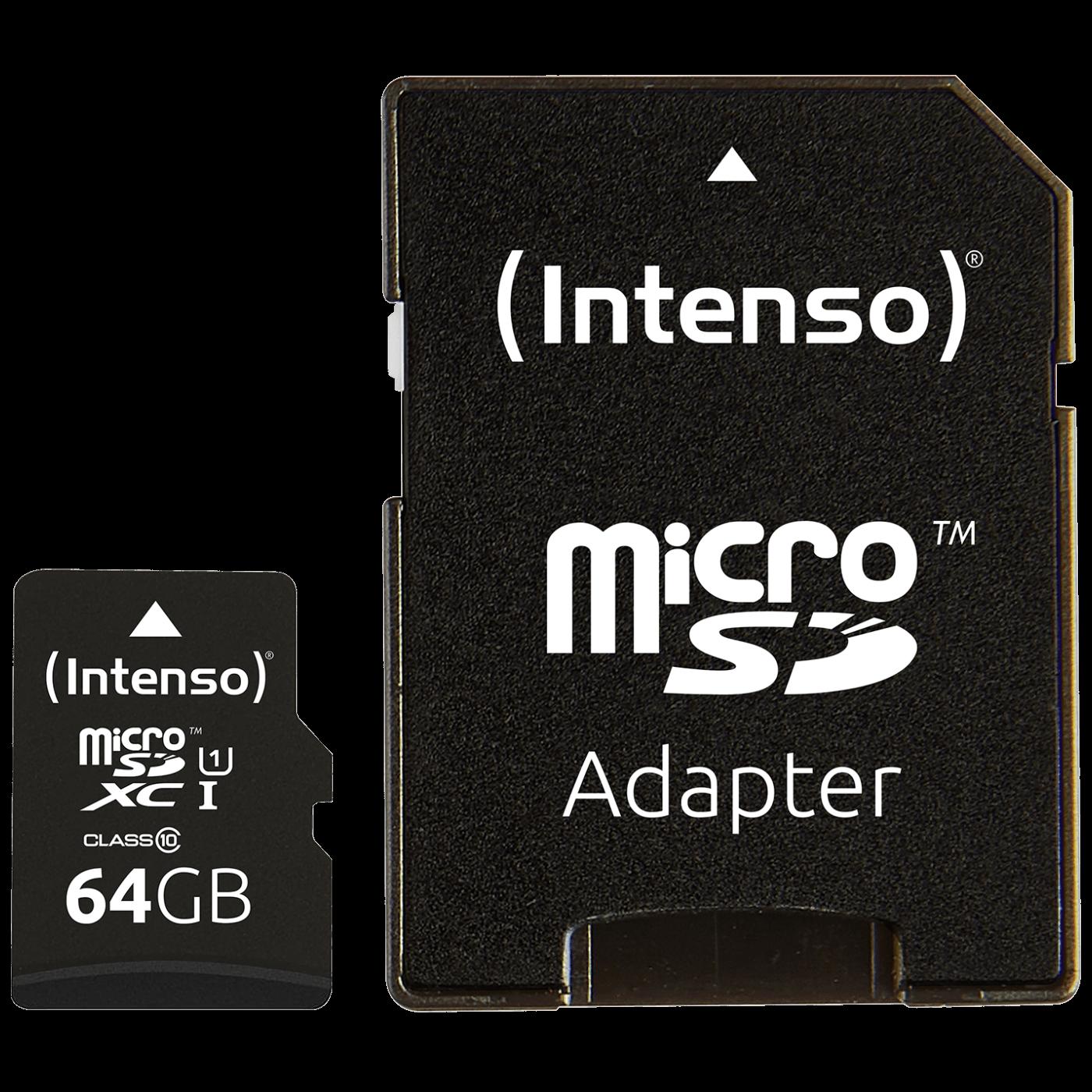 Micro SDHC/SDXC kartica 64GB Class 10, UHS-I +adapter, Pro