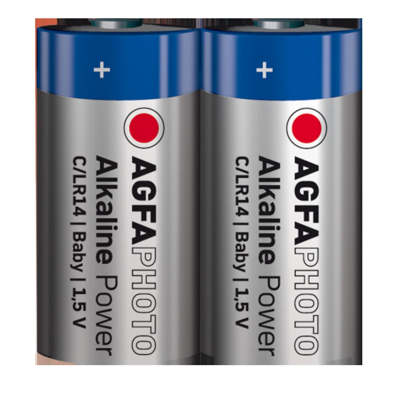 Baterija alkalna, LR14, 1,5V, blister pak. 2 kom
