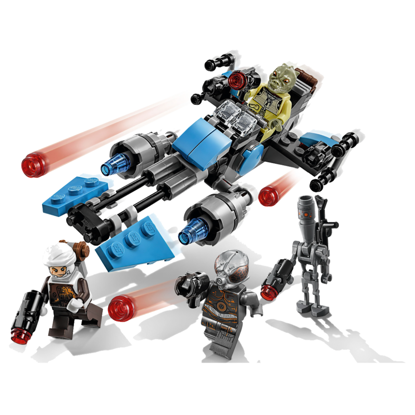 Borbeni komplet,Bounty Hunter Speeder Bike, LEGO Star Wars