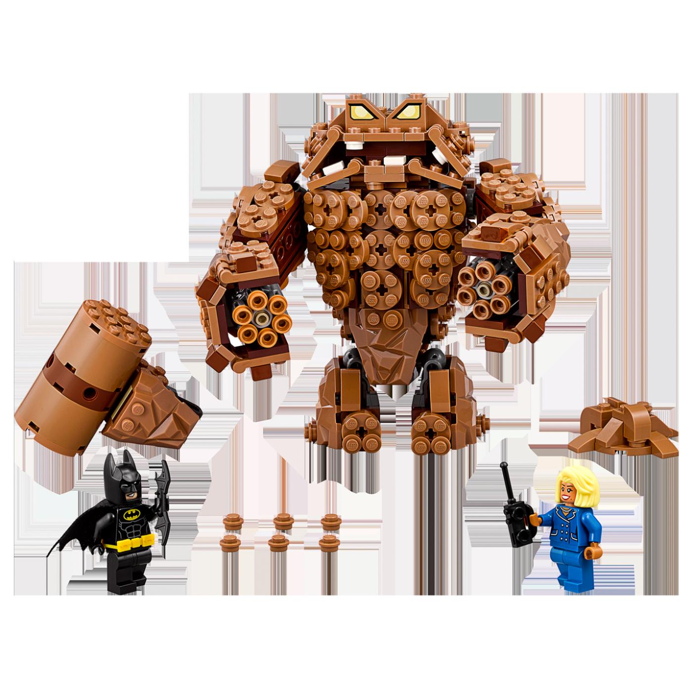 Napad Clayfacea, LEGO Batman Movie