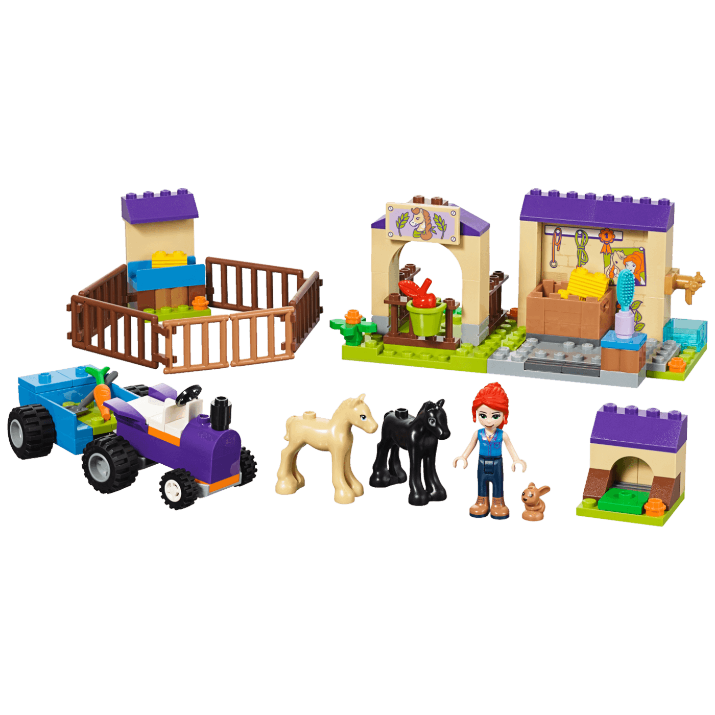 Mijina štala za ždrijebe, LEGO Friends