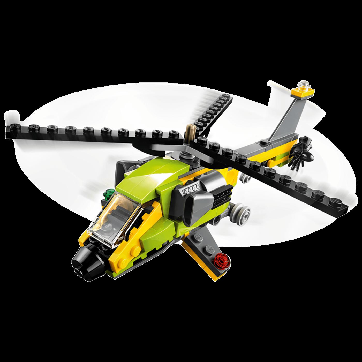 Pustolovina u helikopteru, LEGO Creator