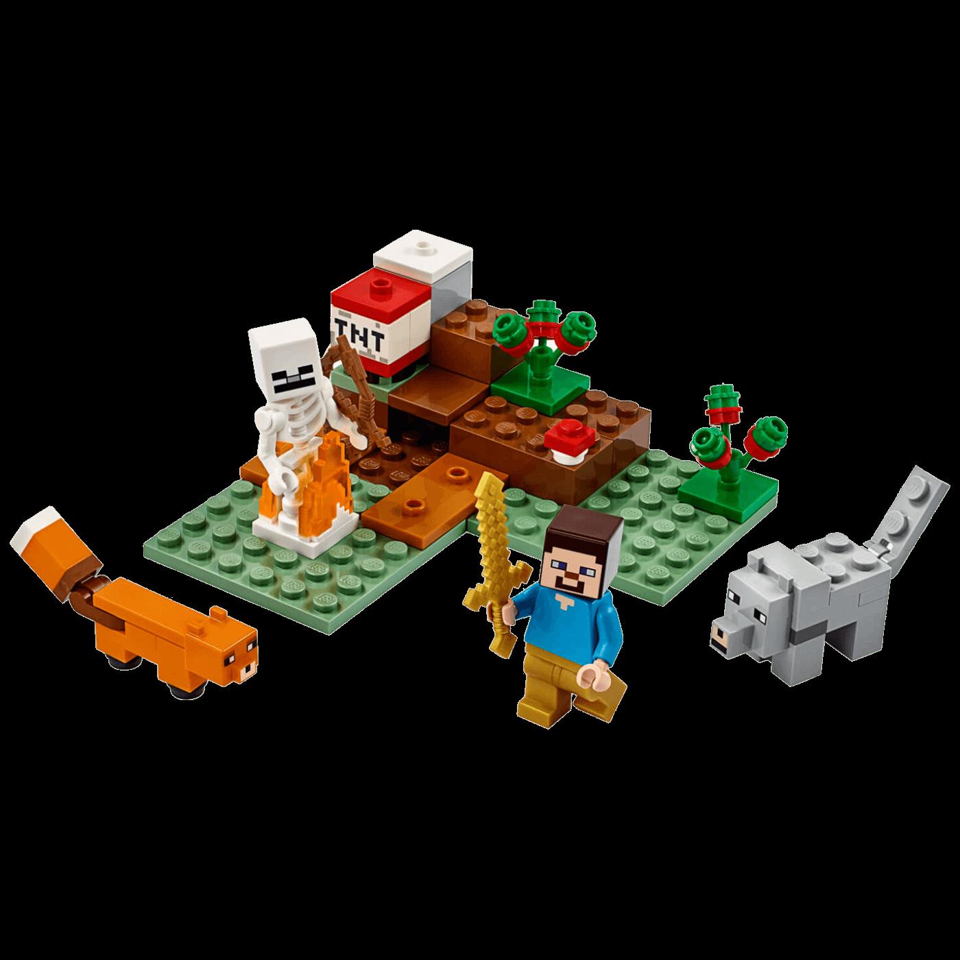 Pustolovina u Tajgi, Lego Minecraft
