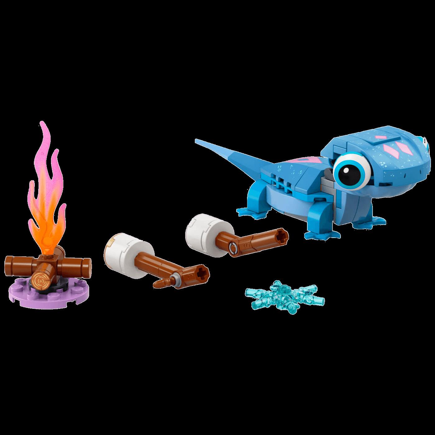 Salamander Bruni, figura za slaganje, Lego Disney Princess