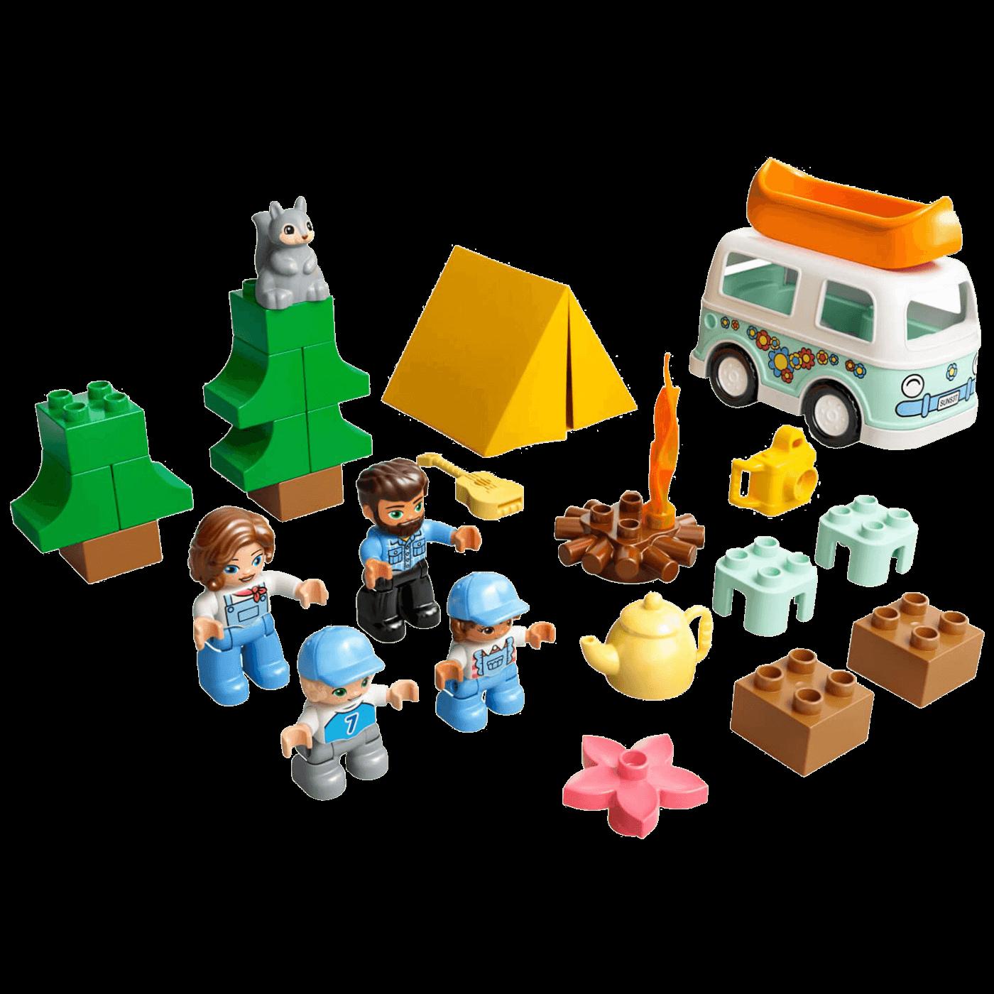Porodično kampovanje, LEGO Duplo