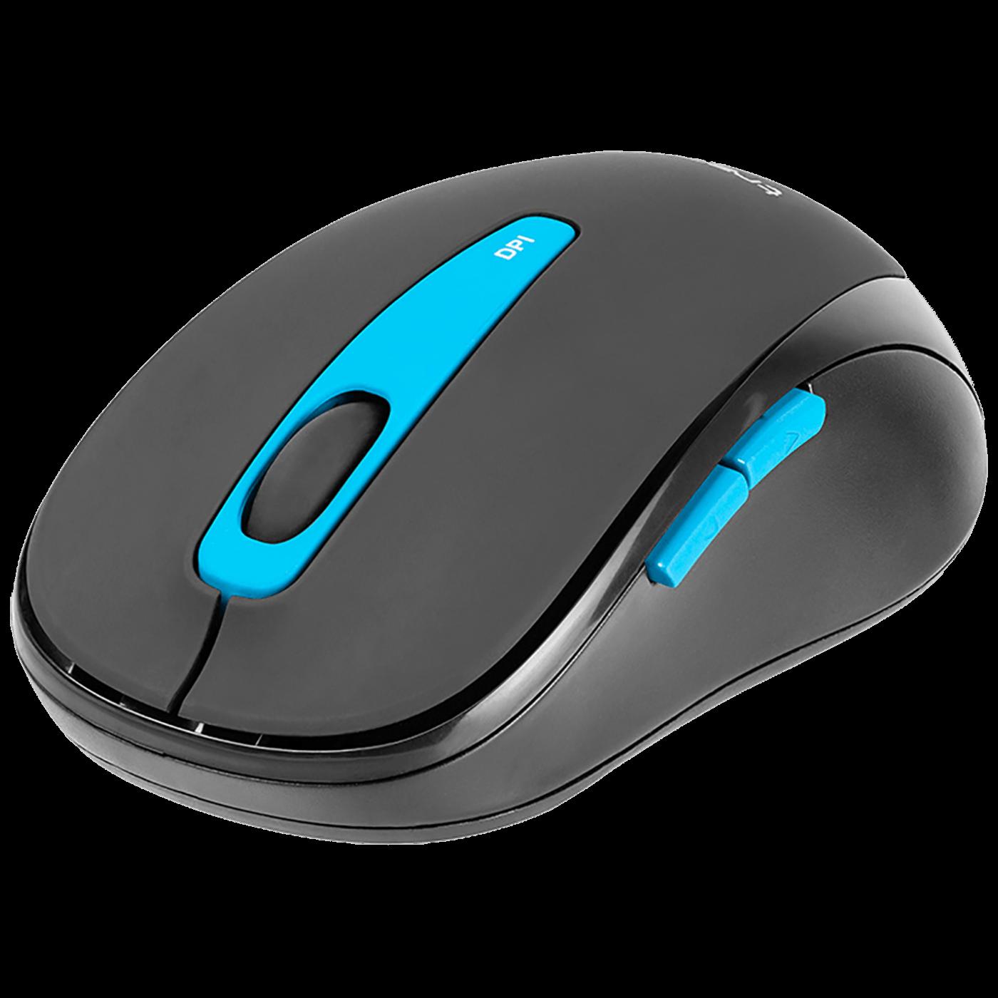 Tipkovnica + miš, bežični set, nano prijemnik