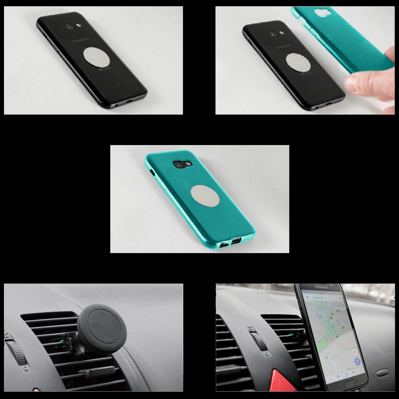 Držač za mobilne uređaje, magnetni