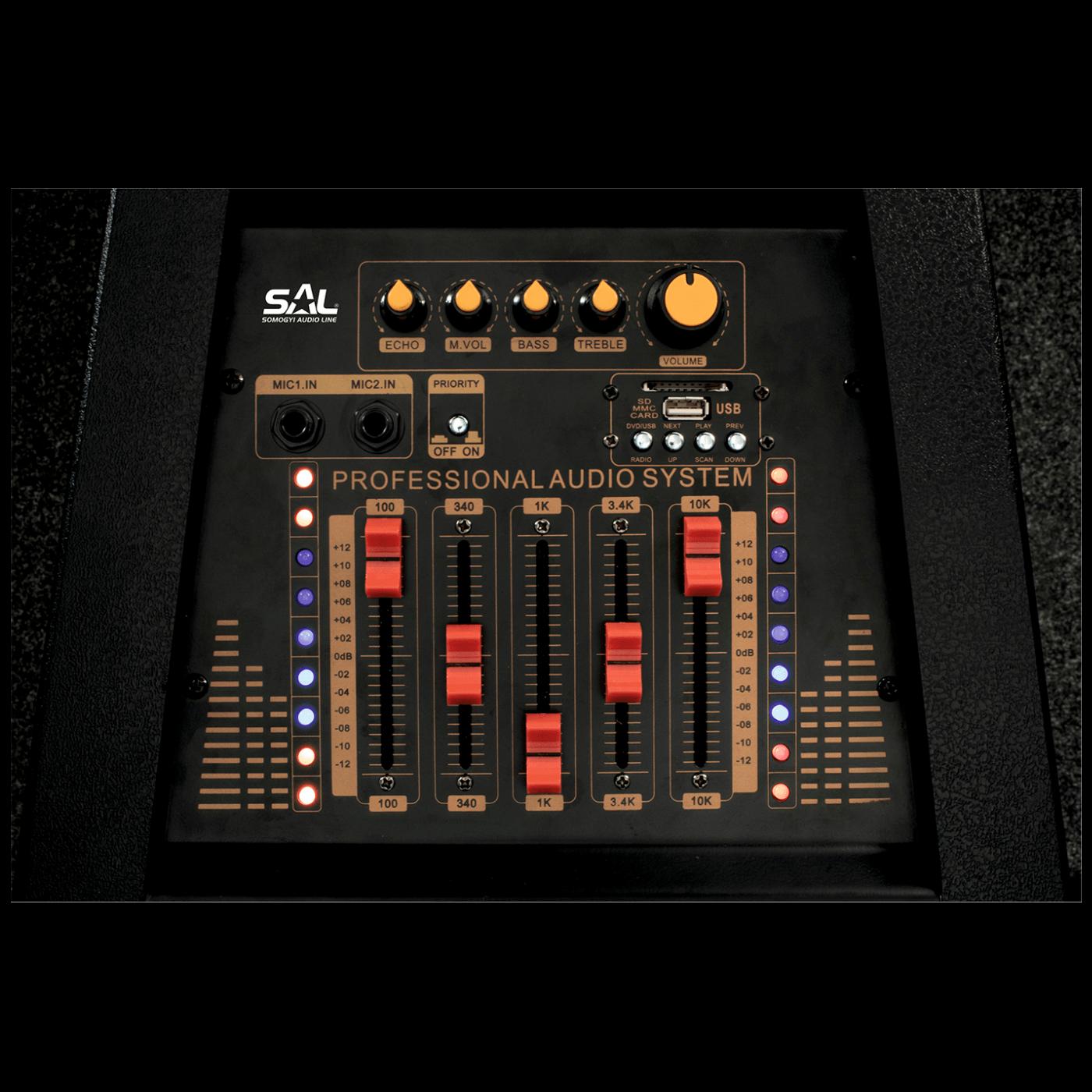 Zvučna kutija, 2 x 220 / 120W, Bluetooth