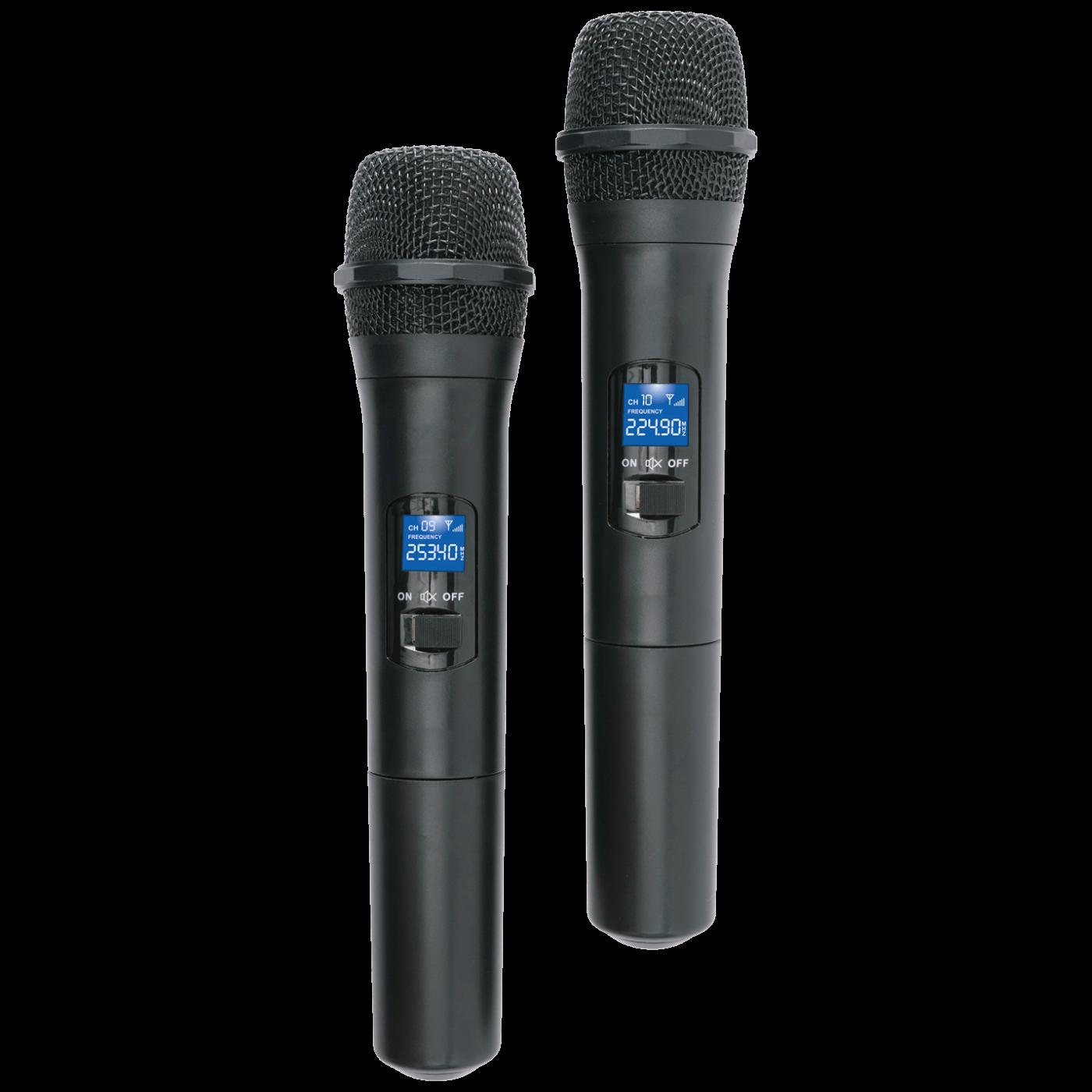 Bežični set, 2 bežična mikrofona i prijemnik