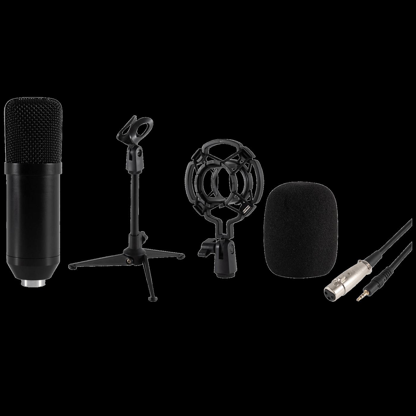 Mikrofon, studijski, sa postoljem, 3.5 mm, 2.4 met.