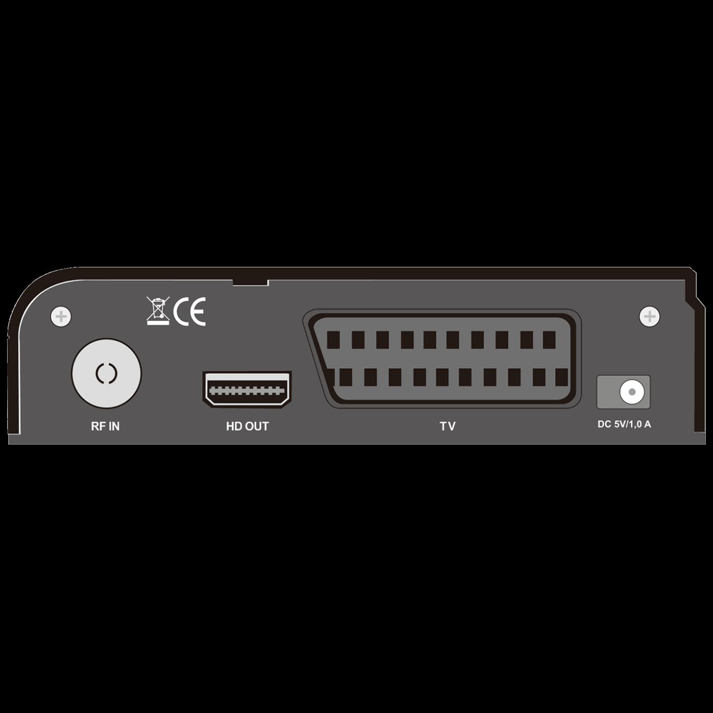 Prijemnik zemaljski, DVB-T2, H.265, Media Player,USB