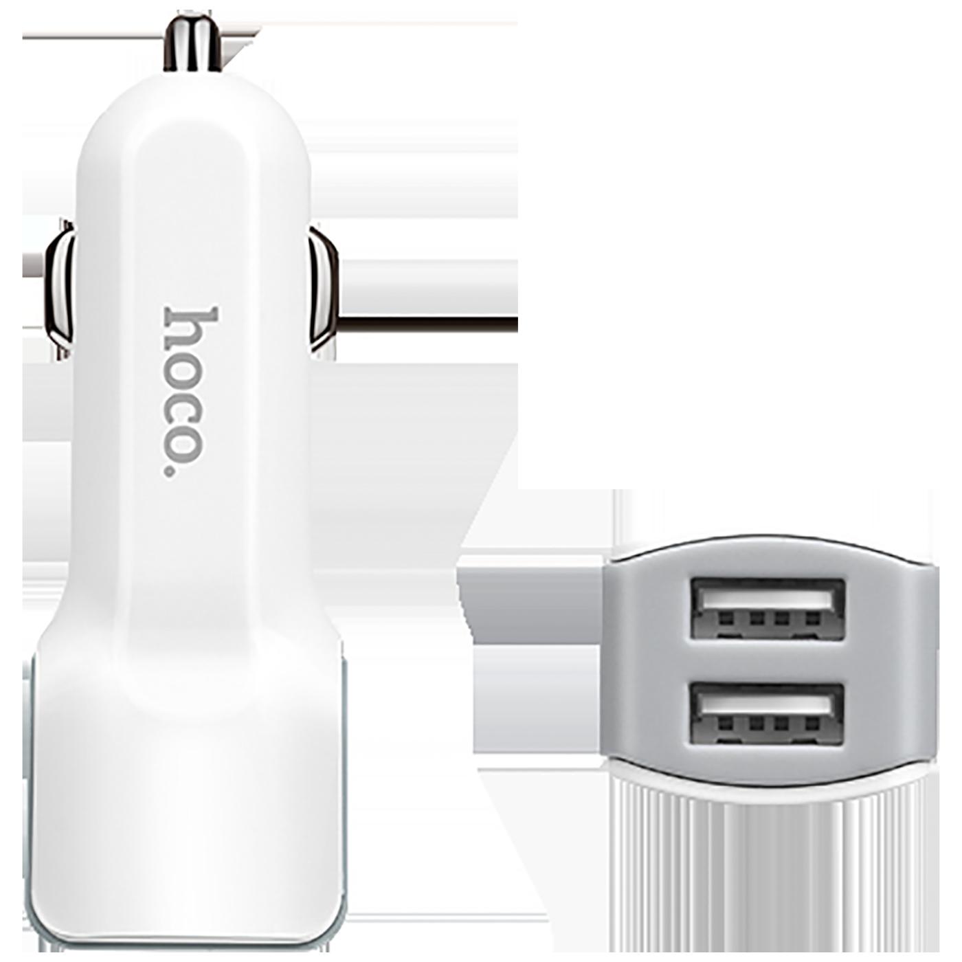 Auto punjač sa micro USB kabelom, 2 x USB, 5 V/2.4 A