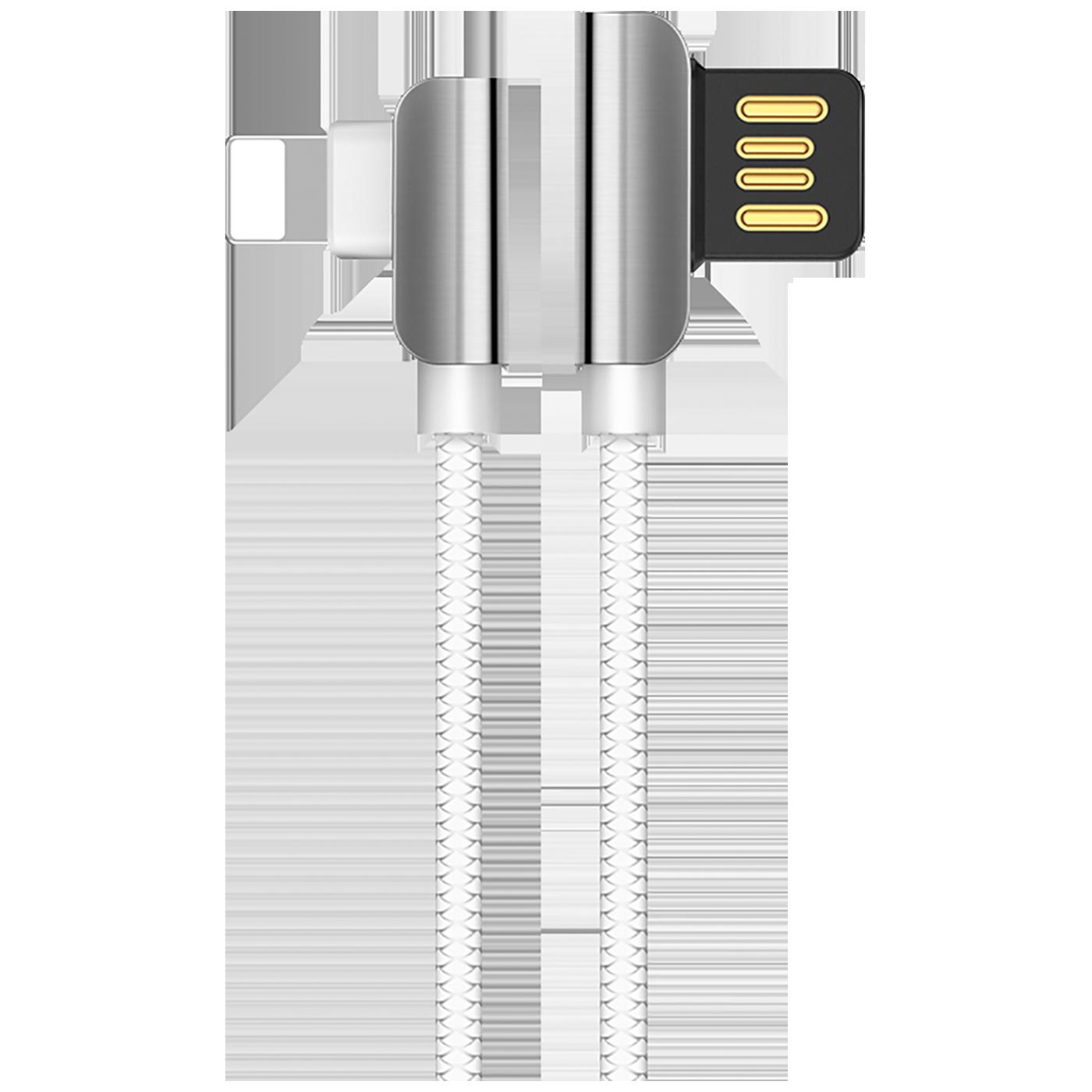 USB kabl za iPhone, Lightning kabl, 1.2 met., 2.4 A,bijela