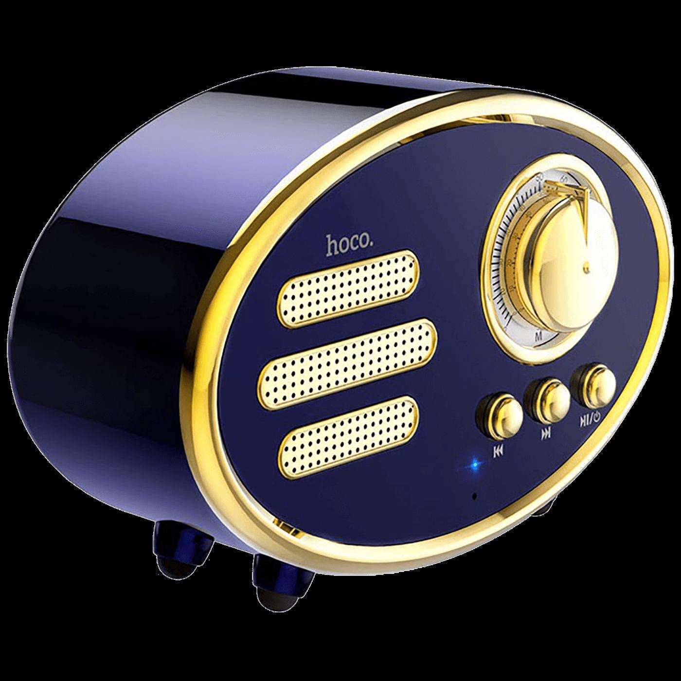 BS25 Time, Bluetooth, retro, blue